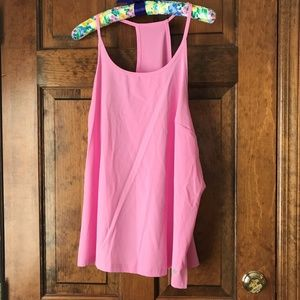 Tek Gear Workout Pink Racer-Back Tank XXL